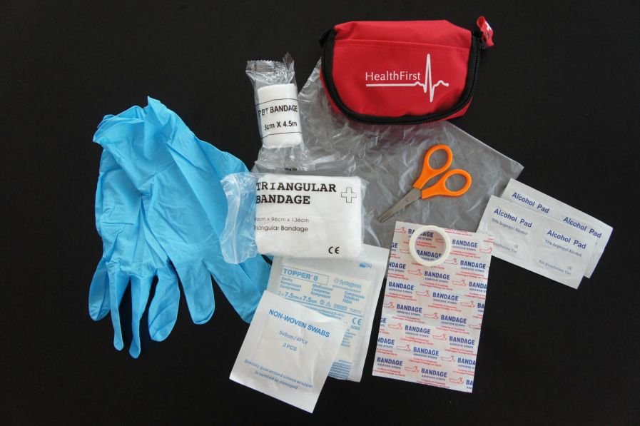 "HealthFirst ""On-the-Move"" First Aid Kit"