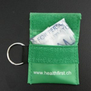 HealthFirst Resuscitation Face Shield Key Ring