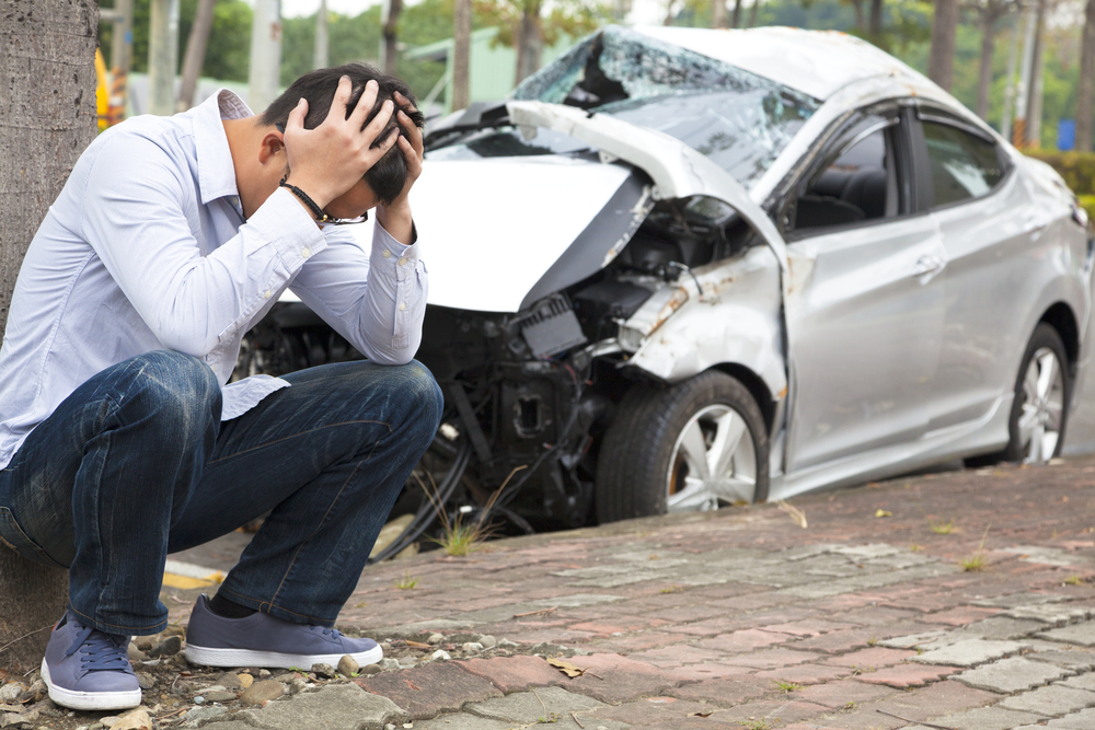 car accident - psychological shock